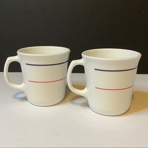 2 Vintage Corning Plymouth Coffee Cups